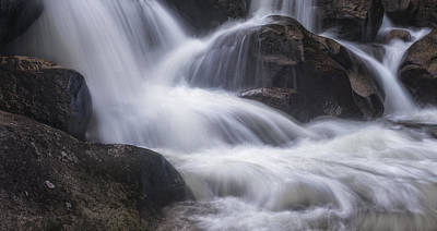 Art Print featuring the photograph Thundering River by Tim Reaves