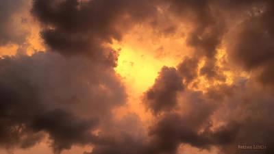 Thunderous Sunset Art Print