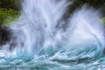 Thunderous Waves Print by Jon Glaser