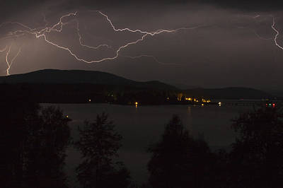 Photograph - Thunderstorm  by Albert Seger