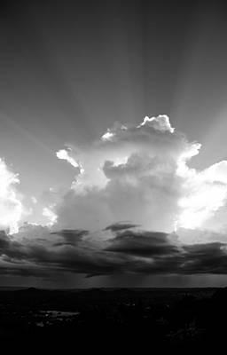 Photograph - Thunderstorm Building by Norchel Maye Camacho