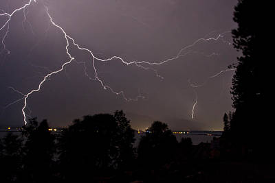 Photograph - Thunderstorm II by Albert Seger