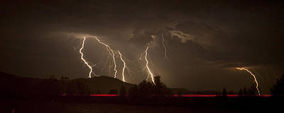 Photograph - Thunderstorm IIi by Albert Seger
