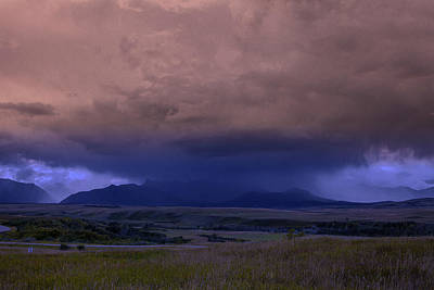 Photograph - Thunderstorm In The Mountains by Ronald Lutz