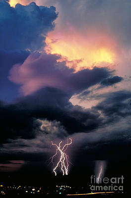Photograph - Thunderstorm by Kent Wood