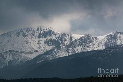 Photograph - Thunderstorm On Pikes Peak by Steve Krull