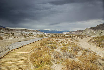 Photograph - Thunderstorms Over Salt Creek by Kunal Mehra