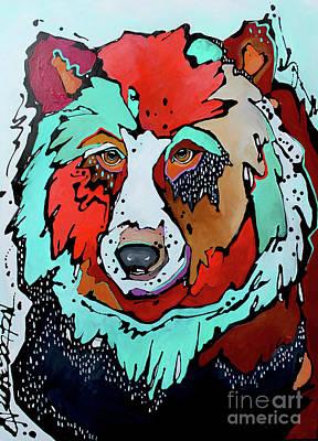 Painting - Thunderstruck by Nicole Gaitan