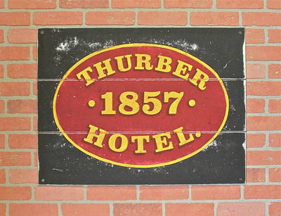 Thurber Hotel Original by Tom Colla