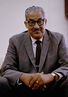 Thurgood Marshall 1908-1993, On June Art Print by Everett
