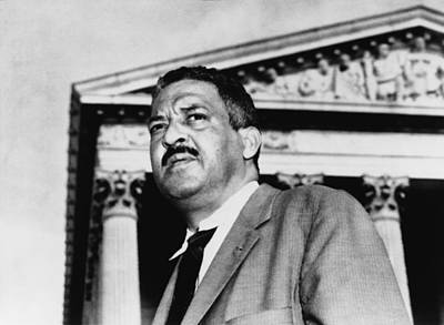 Thurgood Marshall, Naacp Chief Counsel Art Print by Everett