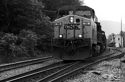 Thurmond Wall Art - Photograph - Thurmond Train by Thomas R Fletcher