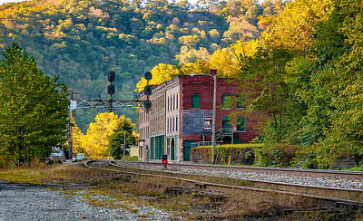 Thurmond Wall Art - Photograph - Thurmond West Virginia by Steve Harrington