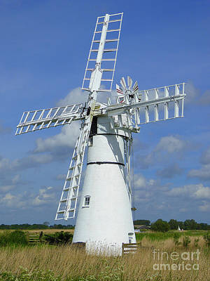 Photograph - Thurne Mill by Anne Gordon