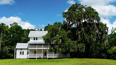 Photograph - Thursby House Blue Springs State Park Florida by Lawrence S Richardson Jr