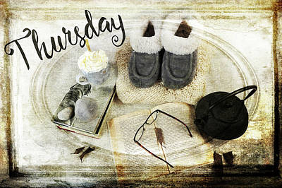Loose Style Photograph - Thursday Shoes by Randi Grace Nilsberg
