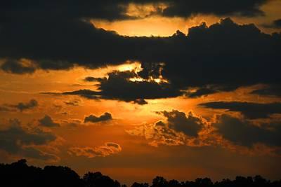 Photograph - Thursday Sunset 1 by Kathryn Meyer