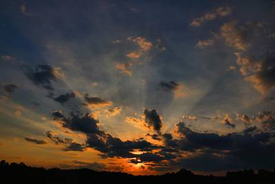 Photograph - Thursday Sunset 2 by Kathryn Meyer