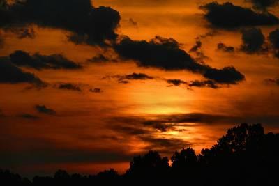 Photograph - Thursday Sunset 3 by Kathryn Meyer