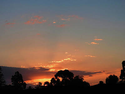 Photograph - Thursday Sunset by Mark Blauhoefer