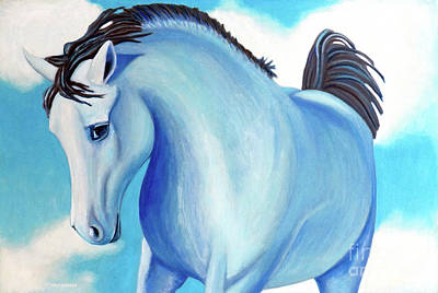 Painting - Thursday's Hero by Brian  Commerford