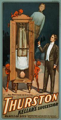 Thurston Prisoner Of Canton Art Print by David Wagner