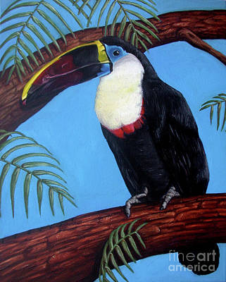 Painting - Thurston the Toucan by Rebecca Tiano