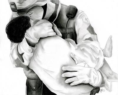 Thy Will Be Done Art Print by Ruth Blum