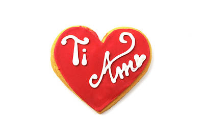 Photograph - Ti Amo Cookie by Fabrizio Troiani