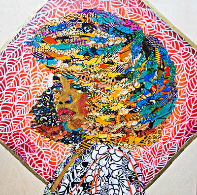 Tapestry - Textile - Ti Amor - I Am Not My Hair by Apanaki Temitayo M
