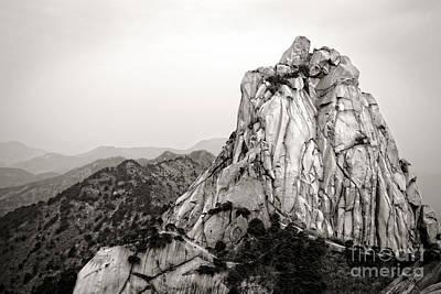 Anhui Photograph - Tianzhu Mountain Peak by Charline Xia