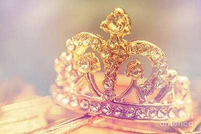Wealth Photograph - Tiara Crown With Diamonds by Jorgo Photography - Wall Art Gallery