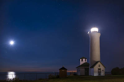 Astro Photograph - Tibbets Point Night by Mark Papke