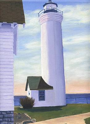 Painting - Tibbett's Point by Lynne Reichhart