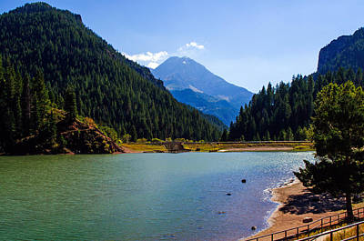 Photograph - Tibble Fork Reservoir  by Tikvah's Hope