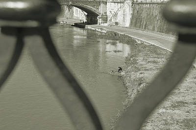 Photograph - Tiber Fishing by JAMART Photography