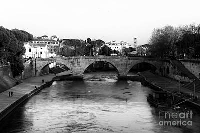 Photograph - Tiber River by John Rizzuto