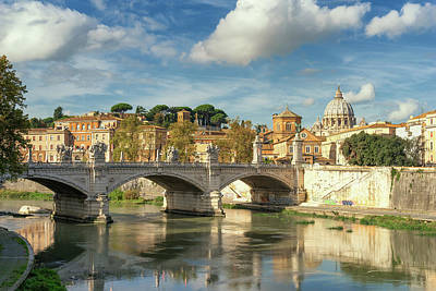 Photograph - Tiber View by James Billings