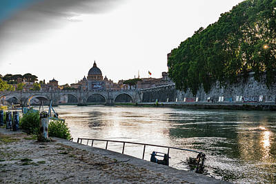 Photograph - Tiber Walk by Joseph Yarbrough