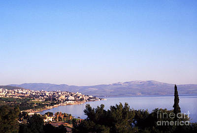 Tiberias Sea Of Galilee Israel Art Print