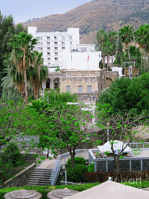 Photograph - Tiberius Town  by Donna Munro