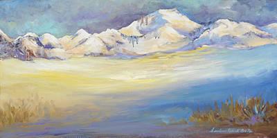 Painting - Tibet by Caroline Patrick