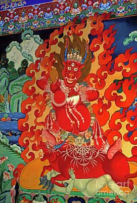 Photograph - Tibet_190-12 by Craig Lovell