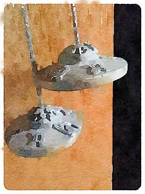 Digital Art - Tibetan Bells by Shannon Grissom