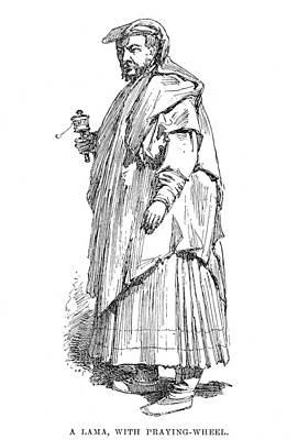 Tibetan Lama, 1895 Print by Granger
