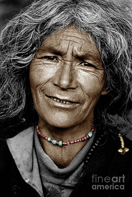 Photograph - Tibetan Pilgrim - Lhasa by Craig Lovell