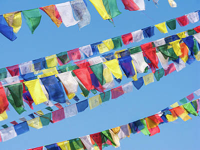 Photograph - Tibetan Prayer Flags by Nila Newsom