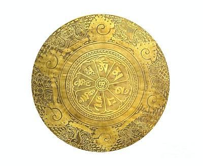 Photograph - Tibetan Prayer Gong by Yali Shi