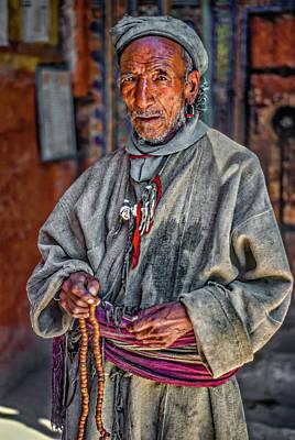 Tibetan Buddhism Photograph - Tibetan Refugee by Steve Harrington