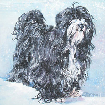 Painting - Tibetan Terrier by Lee Ann Shepard